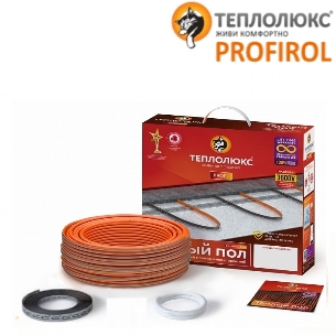 Двухжильный кабель Теплолюкс ProfiRoll 2700 - 153,0 м